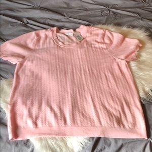 Soft pink top